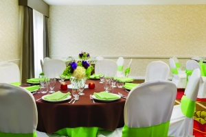 Anaheim Hilton Garden Inn Banquet Set Up Meeting Room